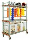 Trolley PVC para Arrumação Equipamentos